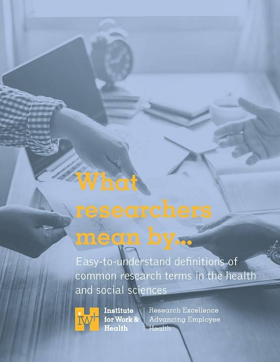 Cover of What Researchers Mean By book