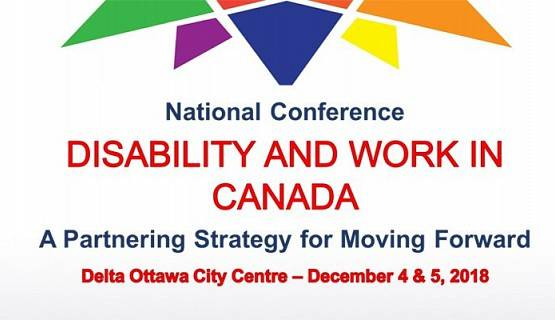 Logo of Disability and Work in Canada 2018 conference
