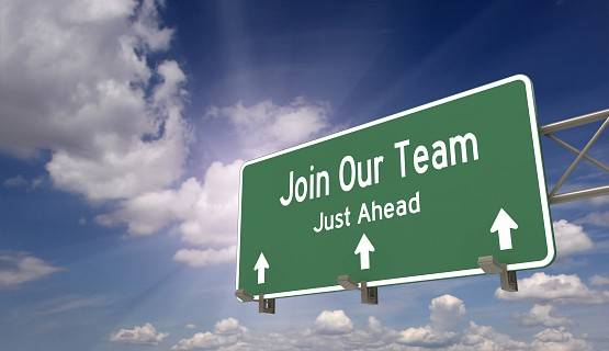 Highway sign reads Join our Team