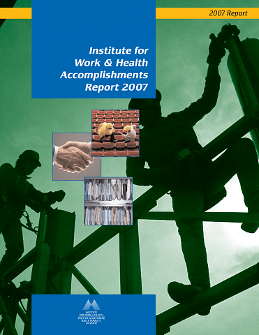Accomplishments report 2007 cover